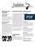 Nov-Dec 2000  Wichita Audubon Newsletter