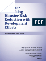 Primer on Linking DRR With Development