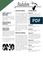January 2001  Wichita Audubon Newsletter