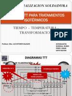 Curvas Ttt Para Tratamientos Isotérmicos