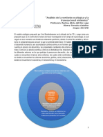Análisis de La Vertiente Ecológica y La Transaccional Sistémica