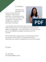 parent introduction letter