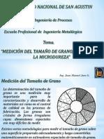 Presentacion 2017 Metalografia Medición Del Tamaño de Grano