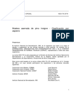 Nch0178-79 Madera - Pino Insigne