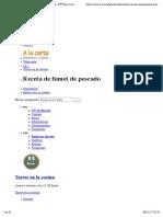 Receta de Fumet de Pescado, Torres en La Cocina - RTVE.es a La Carta