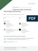 Hipnótico Ideal. Universidad del Zulia. Maracaibo- Venezuela. M. Chavez & cols.