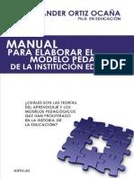 Manual Para Elaborar El Modelo Pedagógico