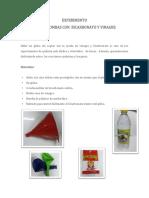 Experimento Inflar Bombas Con Bicarbonato y Vinagre