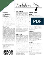 May 2004  Wichita Audubon Newsletter