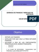 Gerencia de Finanzas y Mercado de Capitales