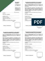 Cargo de Entrega de Reglamento Ds-024-2016-Em