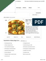 Egg Curry Recipe | Easy Egg Curry Recipe | How to Make Egg Curry