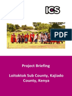 ICS Project Brief -Loitokitok JAN 2017