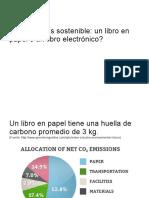 Sostenibilidad Libro Digital y Libro Impreso