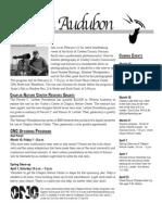 Mar2006 Wichita Audubon Newsletter