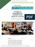 Vantagens e Desvantagens de Trabalhar Em Um Coworking