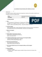 1  ESQUEMA DE PROYECTO DE INVESTIGACIÓN 2017. Revisado