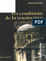Les conditions de la renaissance - Malek Bennabi.pdf
