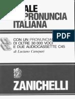 Grammatica e fonetica italiana - Manuale Di Pronuncia - Zanichelli 1992.pdf