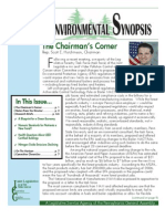 August 2010 Environmental Synopsis