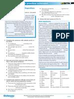B2+ UNIT 9 Extra grammar practice extension
