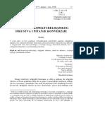 Srdjan Sremac-Psiholoski Aspekti Konverzije