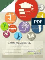 Informe de Calidad de Vida 20121
