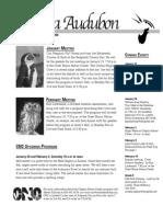 January 2008 Wichita Audubon Newsletter