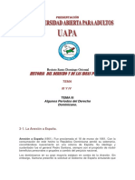 Historia Del Derecho y Las Ideas Politicas. III y IV