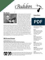 May 2008 Wichita Audubon Newsletter