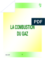 Combustion Du Gaz