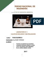 laboratorio N°2 DE FISICOQUIMICA
