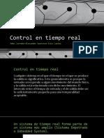 Control en Tiempo Real