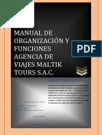 Manual de Organización y Funciones Terminado