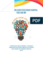 Panduan Lktin Pgsd Fair 2017