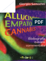 Samorini Allucinogeni Empatogeni Cannabis
