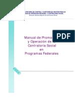 8.1.1.2manual de Promocion y Operacion de La Contraloria Social en Programas Federales