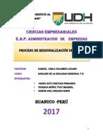 Proceso de Regionalizacion Del Perú