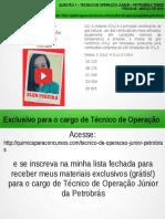 Técnico de Operação Júnior PETROBRAS Questão 1 Resolvida da Prova 40 PETROBRAS Março/2010</div></div><div class=