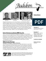 November 2009 Wichita Audubon Newsletter