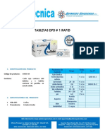 Ft Tabletas Dpd#1 Rapid