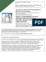 HPLC-RMN exemplo