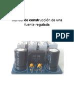 Manual de Operación Para Construcción de Una Fuente de Alimentación Ceti