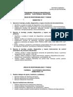 Áreas de Responsabilidad Electrónica IV v VI Semestres 1