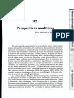 AtkinsonDelamont,Perspectivas analíticas