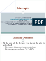Lecture 10- Interrupts