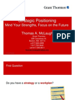Strategic Positioning Strengths