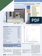 Diffractometric Measurements to Determine the Intensity of Debye-Scherrer Reflexes