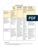 example pt  care plan