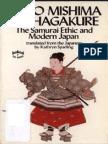 Mishima - The Samurai Ethic and Modern Japan-min